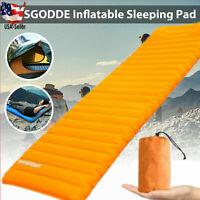 Self Inflating Mattress Sleeping Mat Inflatable Air Bed Camping Pad Hiking Bag