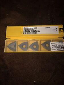 KENNAMETAL WNGA432T0820 New Ceramic Inserts Grade KY3500 10 Pcs