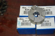 """Martin Ml095 7/8"""" & 3/4"""" Jaw Coupling, Lot of 4 (2 of each) New in box"""