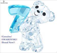 Swarovski Kris Bear NUMBER # 7 (Seven) Color Crystal Figurine 5108729 NEW in Box
