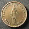 Canada 1852 One Penny Token Deux Sous PC-4 / Breton 528 / J-081