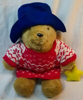 "Sears Kids Gifts 1998 HOLIDAY PADDINGTON BEAR 15"" Plush STUFFED ANIMAL Toy"