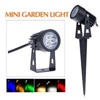 12V 110V 220V 3W mini LED Landscape Light Garden Grass Light Waterproof Outdoor