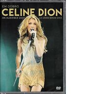 DVD    CELINE DION    LIVE N AUDIENCE 2007 + LE GRAND SHOW 2012    DVD