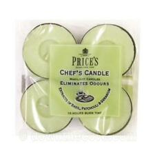 4 x Prices Candles Chefs Maxi Tealight - Scented Cooking Odour Eliminator