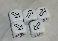 WARHAMMER 40K - Games Workshop - Set of 5 Scatter Dice - NEW