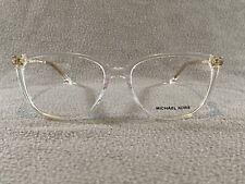 New Authentic Michael Kors 4067U 3015 Transparent Eyeglasses 55mm