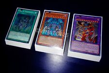 Yugioh Complete Sacred Beast Deck + Ultra Pro Sleeves! Tournament Ready! Holos!