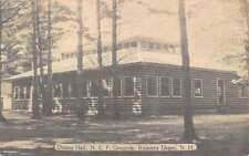 Rumney Depot New Hampshire N E F Grounds Dining Hall Antique Postcard K18532