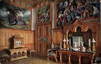 Hohenschwangau Bayern Schwaben AK ~1910 Schloss Neuschwanstein Toilette Zimmer