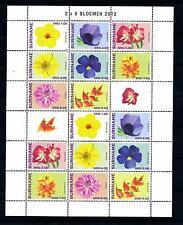 [SUV1881] Surinam Suriname 2012 Flora Flowers Miniature Sheet with tab MNH