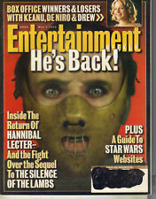 ANTHONY HOPKINS SILENCE OF THE LAMBS Entertainment Weekly 5/7/99 ROBBIE WILLIAMS