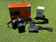Dslr sony alpha dslr-a200 zoom 18-70m camera.