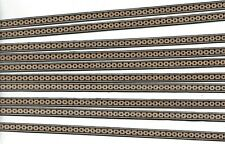 10 STRIPS LUTHIER  BINDING / BACK SEAM, MARQUETRY INLAY BANDING, (BS-211)
