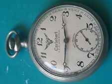 Cortebert T.C.D.DEMIRYOLU pocket watch  mov cal 726 swiss excellent working
