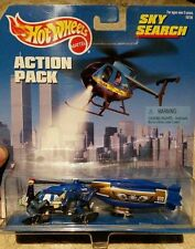 SKY SEARCH - 24-HOUR SURVEILLANCE!, Hot Wheels Action Pack, 1:64, NEW on Card!