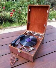 Gramophone Olotolal valise - Deux bras de lecture / Olotolal gramophone suitcase