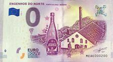 BILLET 0 EURO  ENGENHOS DO NORTE PORTUGAL 2018-1 NUMERO 200