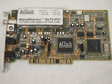 Aitech Wavewatcher NeTV-PCI TV Tuner & Video Capture Card NTSC Vintage