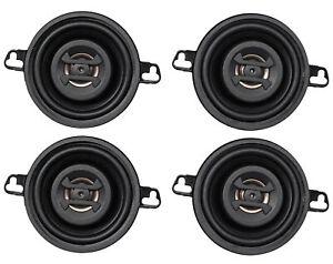 Brand Hifonics (4) ZS35CX 3.5 Inch 500 Watt Coaxial Car Speakers Lightweight