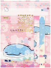 "San-X Jinbesan (""Whale Shark"") ""Underwater Bath"" Letter Set (#1)"