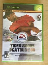 Tiger Woods PGA Tour 06 Microsoft Xbox Golf Sports 2005 Factory sealed BRAND NEW