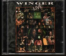 WINGER: LIVE 2 CD SET REB BEACH KIP WINGER HARD ROCK OUT OF PRINT