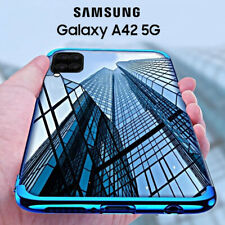 COVER per Samsung Galaxy A42 5G CUSTODIA ELECTRO + PELLICOLA VETRO TEMPERATO 9H