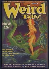 WEIRD TALES Pulp March 1940, Cover by Hannes Bok, Interior Illus. Finlay, FINE