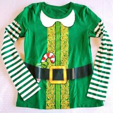 WOUND UP Elf Shirt Womens Sz Small Long Sleeve Novelty T-shirt Green Christmas