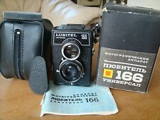 Lomo Lubitel 166B Soviet TLR Medium Format Camera Cap And Case New with passport