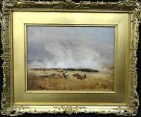 Fine 19th Century Battle Of Waterloo Kellermans Defeat by Thomas Sidney COOPER