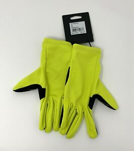 RAPHA Pro Team Gloves Size Small Yellow New