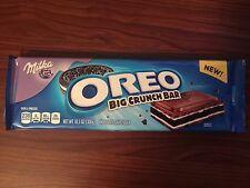 Milka Oreo Big Crunch Chocolate Candy bar 10.5 Oz FREE SHIP - NEW ON HAND SEALED