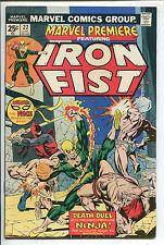 Marvel Premiere #22 - Iron First! - 1975 (Grade 7.0)