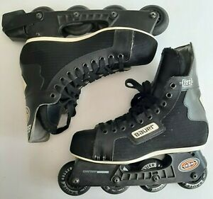 Bauer Mens Size 8 Off Ice Hockey Roller Blade Skates 72mm wheel