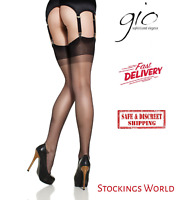 """Wolsey Monte Carlo Size 9 1//2/"""" to 10/"""" Vintage RHT 15 Denier Stockings two shades"""