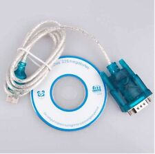 USB TO RS232 SERIAL Adapter CABLE DB9 PIN Serial Adapter Cable, M/M