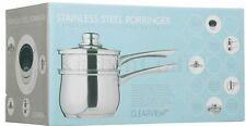 Kitchencraft Bain Marie antiadhésif en acier inoxydable double chaudière CLPO Pan