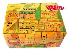 Hand Painted Jewelry Box - Made in Israel - Jewish Gift - Judaica Art