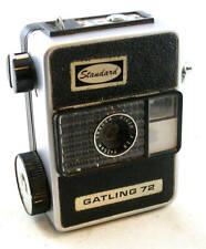 Vintage Ricoh Gatling 72 Half-Frame 35mm Spring Motor Drive Camera w/Case