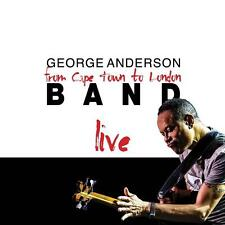 George Anderson(CD Album)From Cape Town To London Live-Secret-SECCD128-New