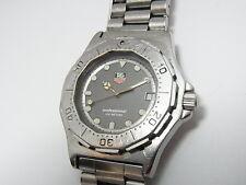 Tag Heuer Professional 3000 St.Steel 38mm Men's Mid Swiss Quartz Watch 932.213