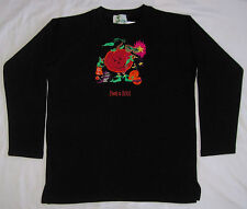 Quacker Factory Halloween Sweatshirt Size XS Black Orange NWT