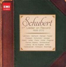 NEW Schubert Lieder on Record (1898-2012) (Audio CD)
