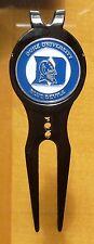 """Duke University Blue Devils 1"""" Golf Ball Marker 2 Side & Divot Tool w/clip~NCAA"""
