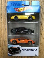 Hot wheels 3 Car Set (brand new)