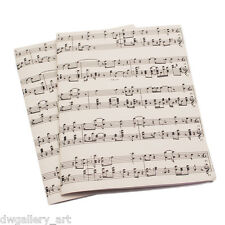 Music Sheet Gift Wrap. Cream. Suitable for any occasion Size: 40 x 28cm - GP12
