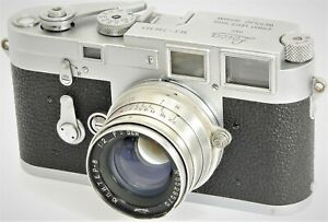 LEICA M3 35mm Rangefinder by E. LEITZ Wetzlar Made in 1955 2nd Production Year!