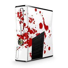 Xbox 360 Slim Skin Aufkleber Schutzfolie Sticker Skins Sticker Design Blood